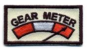 "Matrix Very Tactical ""Gear Metre hook and loop Patch - Tan"