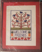 Friendship Tree Counted Cross Stitching Craft Kit
