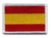 Matrix hook and loop Spain Flag Patch