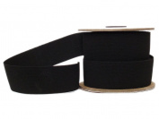 Conrad Jarvis Designer's Choice Elastic Knit Reel Black 1.5x 15 yd 15 Yards