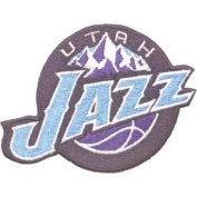 National Emblem Utah Jazz Team Logo Patch