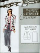 The Sewing Workshop Sandra Betzina Vest and Skirt Sewing Template, Multi-Size