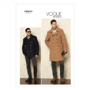 Vogue Patterns V8940 Men's Jacket and Pants Sewing Templates, Size MUU