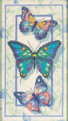 Dimensions Needlecrafts Stamped Cross Stitch, Butterfly Trio