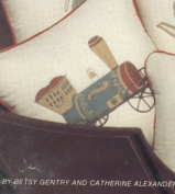 Cathy Needlecraft Toy Pillows - Steam Engine Pillow Quilt Kit 30cm by 30cm #7106