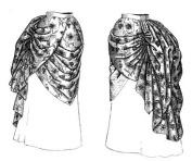 1884 Wash Overskirt Pattern