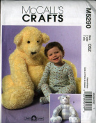 McCall's Crafts Pattern for Big Bears - 140cm tall