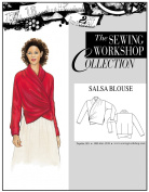 The Sewing Workshop Salsa Blouse Sewing Template, Multi-Size