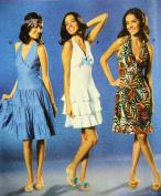 Burda 8045 Pattern, Young Fashion' Flounce Sun Dress 6 to 18