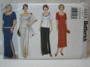 Butterick Pattern 6413 Women's / Women's Petite Top, Skirt & Stole