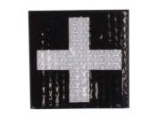Reflective Medic Patch - Black