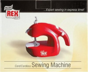 Smartek Mini Sewing Machine Cordless Red