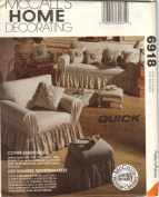 1994 OOP & UNCUT McCALL'S 6918 HOME DECORATING - COVER ESSENTIALS - SEWING PATTERN