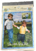 Favourite Little Things Pattern L003 The Little Zip-Up Vest