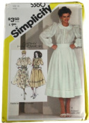 Simplicity 5360 Pattern Misses Blouse and Full Skirt Cathy Hardwick Size 10