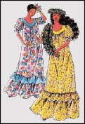 Ladies Classic Hawaiian Muumuu Sewing Pattern #103