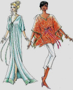 Versatile Hawaiian Caftan / Tunic Sewing Pattern #315