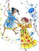 Child's Hawaiian Muumuu Dress or Nightgown Sewing Pattern #412