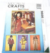 McCall's Crafts Pattern 9666 Global Friends Doll