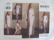 Vogue Pattern 2500 Misses'/Misses/ Petite Kimono, Dress, Top, Pants & Scarf Vogue American Designer Tom and Linda Platt