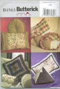 Butterick B4563 Decorative Pillows