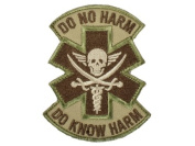 "Mil-Spec Monkey ""Do No Harm - Pirate hook and loop Patch - Multicam"