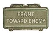 "Mil-Spec Monkey ""Front Toward Enemy hook and loop Patch - Multicam"