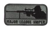 Mil-Spec Monkey Major League Sniper hook and loop Patch - ACU Dark