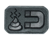 Mil-Spec Monkey Shit Magnet hook and loop Patch - ACU