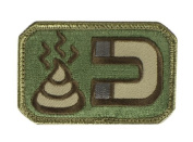 Mil-Spec Monkey Shit Magnet hook and loop Patch - Arid