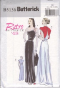 Butterick B5136 Retro '48 Dress Sizes EE