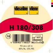 Vilene Iron-on nonwoven interfacing H 180 white-coloured; width 35.10 inch/90cm, price per metre
