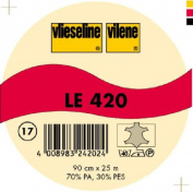 Vilene Iron-on nonwoven interfacing LE 420 merino beige-coloured; width 35.10 inch/90cm, price per metre