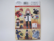 Vogue 9442 46cm Doll Clothes Sewing Pattern Fits American Girl / VERY EASY!