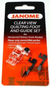 Janome Clear View Quilting Foot and Guide Set