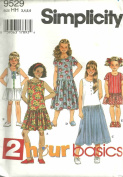 Childs And Girls Dress (Simplicity Sewing pattern 9529, Size