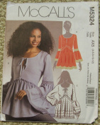 McCall's Pattern 5324 - Misses Tops - Size AX5
