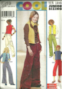 Girls Pants & Vest (Simplicity 6119, Size
