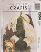 Santa Greeter McCall's Craft Sewing Pattern 2900