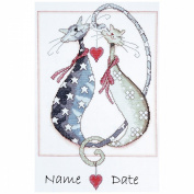 Purrfect Counted Cross Stitch Kit