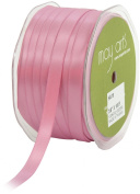 May Arts 1cm Wide Ribbon, Mauve Satin