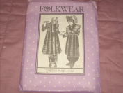 Folkwear 118, Tibetan Panel Coat Pattern, Festival Vest