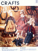OOP McCall's Crafts Pattern 7227. 39cm & 22cm Pony/Horse Dolls & Clothes. Pony Tales