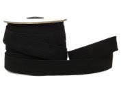 Conrad Jarvis Designer's Choice Elastic Flat Braid Reel Black 1x 20 yd 20 Yards