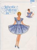 Authentic Patterns #326 - Ladies' Square Dance Dress Pattern