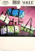 Vogue 8100 Handbags Sewing Pattern Craft