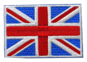 7cm x 4.8cm emblem of British Flag [can be pasted iron]
