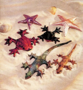 Kwik Sew 2413 Crafts/Pet Sand Filled Lizard, Gecko, Frog, Starfish in 2 Sizes Sewing Pattern