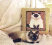 Vogue 7445 Sewing Pattern Plush Cat Pillows