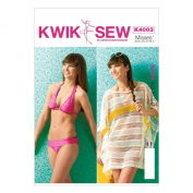 KWIK-SEW PATTERNS K4003OSZ Misses' Cover-Up and Swimsuit Sewing Template, All Sizes